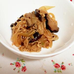 簡単作りおき!玉ねぎ椎茸エノキのさっと煮