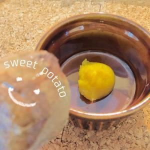 【離乳食初期〜】アレンジ豊富な焼き芋ペースト