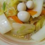 白菜たっぷり減塩八宝菜