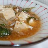 水菜入り☆マーボー豆腐