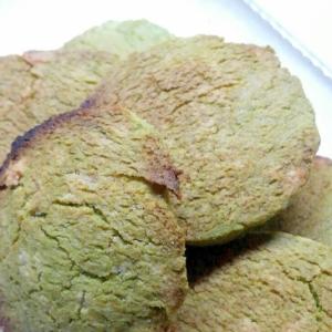 大麦若葉のノンエッグクッキー