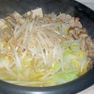 豚にんにくバター鍋