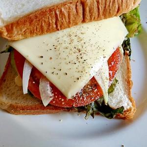 ボリュームたっぷり‼のっけ盛サンドイッチ