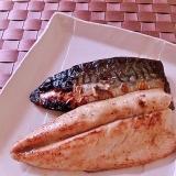 簡単!ふっくら♪塩サバのフライパン焼き