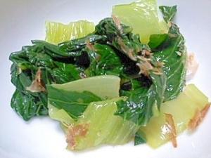 チンゲン菜の梅ポン酢和え