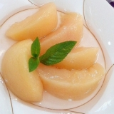 桃の♪シロップ煮(コンポート)