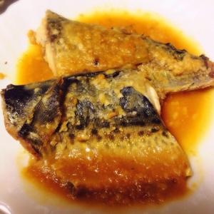 日本酒に合う*鯖の味噌煮