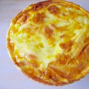 クリームチーズ&ヨーグルトでスフレ風チーズケーキ