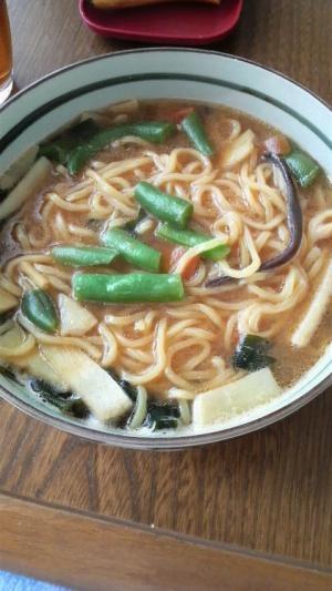 中華野菜味噌ラーメン