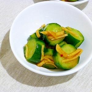 キムチの素で胡瓜のキムチ
