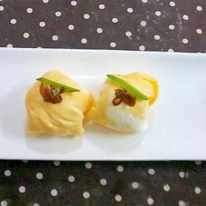 いかなご寿司の卵手まり