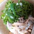鮭の黒こしょう風味のマヨ丼