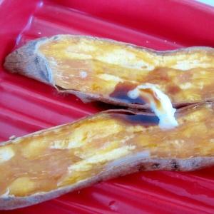干し芋のバター醤油焼き