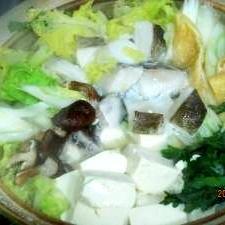 鱈ちり鍋 (我が家の味)