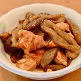 鶏肉とこんにゃくと椎茸の煮物