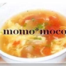 簡単♪トマトと卵のスープ
