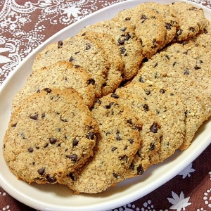 チョコチップin☆おからクッキー