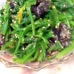 簡単!美味しい!ほうれん草と海苔のナムル