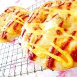 基本のパン生地de❤馬鈴薯マヨケチャチーズパン❤