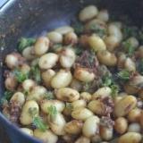 大豆とシソの実のおかず味噌