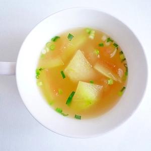 すいかの皮のスープ