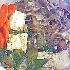 ダイエット肉豆腐
