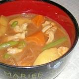 冷凍のカレーミックスde豚汁(いんげん入り)