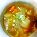 冬瓜の和風カレースープ