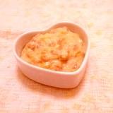 全卵1/2個♪枇杷の豆乳カスタードクリーム