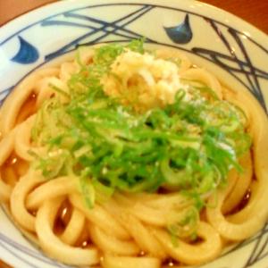 ☆*:・擂り生姜と葱たっぷりのかけうどん☆*:・★