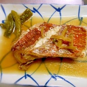 クイックボウルで簡単★赤魚の煮魚★