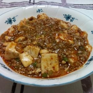 ちょい辛四川風麻婆豆腐