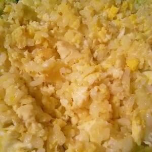 豆腐入りチャーハン