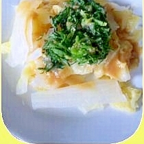 春らんらんナズナと白菜のサラダ