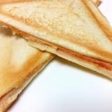 チーズがとろ〜り♡ホットサンド*ハムチーズ