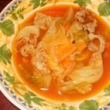 お野菜たっぷり食べられる具だくさんスープ