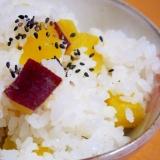 ホクホク☆芋好きのためのさつまいもご飯
