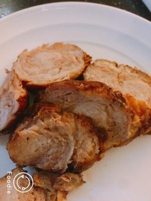 スライス豚肉でチャーシュー