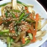 菊芋入り野菜炒め