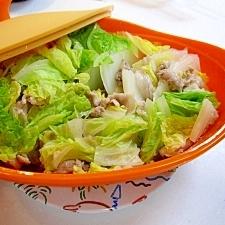 シリコンスチーマーで簡単☆白菜と豚の蒸し物