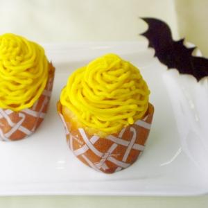 ハロウィンレシピ【かぼちゃのモンブラン♪】