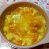 豆腐の明太マヨチーズ焼き++