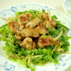 サッパリコクうま!鶏もも肉と野菜のソテー