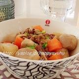 焼き肉のタレで簡単おいしい☆大根の煮物