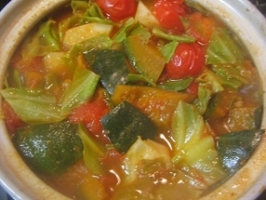 プチトマト鍋