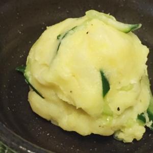 電子レンジで♪辛子マヨの大人なポテトサラダ