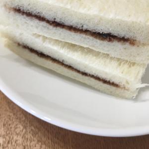 市販のチョコクリームアレンジサンド
