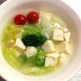 簡単☆おいしい☆ライスヌードルのスープ