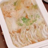 BRUNOで白菜と豚肉のミルフィーユ鍋