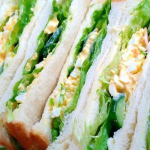 定番たまごのサンドイッチ